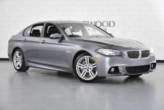 Used 2016 BMW 5 Series 528i xDrive M Sport, Navigation, Camera, Loaded for sale in Concord, ON