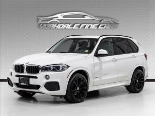 Used 2017 BMW X5 xDrive35d M Sport, DVD, Navigation, Intelligent Safety for sale in Concord, ON