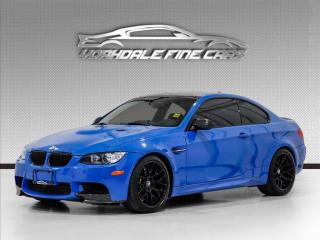 Used 2013 BMW M3 Competition *Santorini Blue* 1 of 22 limited-edition coupe for sale in Concord, ON