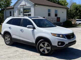 Used 2012 Kia Sorento No-Accidents AWD V6  EX-Luxury Leather Pano Roof Backup Cam for sale in Sutton, ON