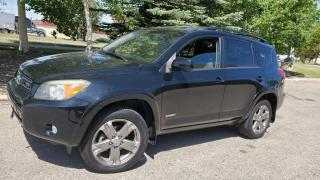 Used 2008 Toyota RAV4 4WD 4DR V6 SPORT for sale in Calgary, AB