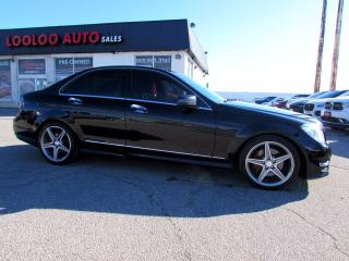 Used 2014 Mercedes-Benz C-Class C350 4MATIC AMG Navigation Camera Certified for sale in Milton, ON