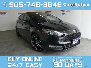 Used 2016 Ford Focus ST | TECH PKG | LEATHER | NAV | ROOF |RECARO SEATS for sale in Brantford, ON