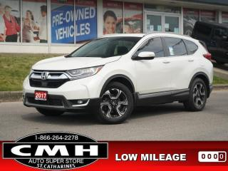 Used 2017 Honda CR-V Touring  NAV CAM ROOF LEATH HTD-S/W 19-AL for sale in St. Catharines, ON