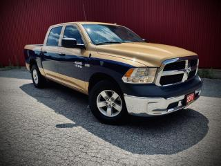 Used 2017 RAM 1500 ST, B-CAM, Tradesman Crew Cab SWB 4WD for sale in Scarborough, ON