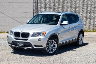 Used 2013 BMW X3 xDrive28i Pano sunroof, Excellent Condition for sale in St. Catharines, ON