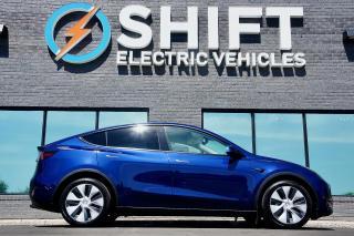 Used 2021 Tesla Model Y LONG RANGE ALL WHEEL DRIVE AUTOPILOT, 5 SEATER for sale in Oakville, ON