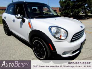 Used 2014 MINI Cooper Countryman Base Accident Free!!! for sale in Woodbridge, ON