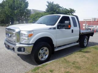 Used 2015 Ford F-350 XLT Super Duty 4x4 Extended Cab 8 Foot Flat Deck for sale in Burnaby, BC