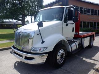 Used 2010 International 8600 Transtar 11 Foot Dually Diesel Flat Deck With Airbrakes for sale in Burnaby, BC