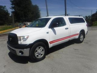 Used 2008 Toyota Tundra Regular Cab 4.7L Long Bed 2WD for sale in Burnaby, BC