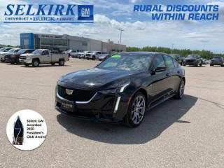 Used 2020 Cadillac CTS Sport  *MASSAGE SEATS, NAV, PANO ROOF* for sale in Selkirk, MB