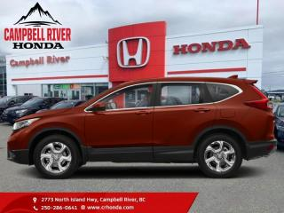 Used 2018 Honda CR-V EX AWD  - Sunroof for sale in Campbell River, BC