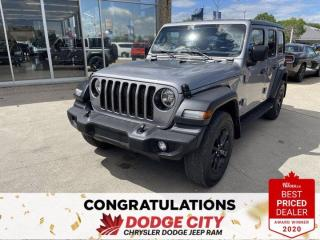 Used 2019 Jeep Wrangler Unlimited Sport-4WD,Remote Start,Htd.Seats/Wheel for sale in Saskatoon, SK