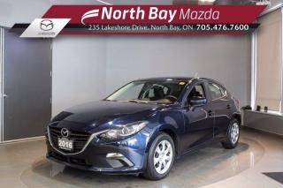 Used 2016 Mazda MAZDA3 GX - Navigation! - Bluetooth - Cruise for sale in North Bay, ON
