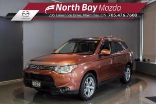 Used 2014 Mitsubishi Outlander ES AWD - Sunroof - Heated Seats - Eco Mode for sale in North Bay, ON