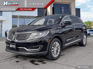 Used 2016 Lincoln MKX Select for sale in Peterborough, ON