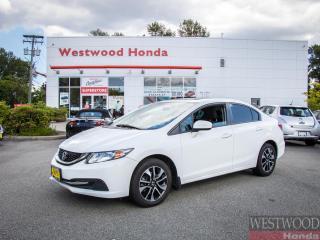 Used 2015 Honda Civic Sedan EX CVT for sale in Port Moody, BC