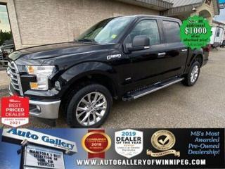 Used 2017 Ford F-150 XLT* 4WD/SUPERCREW/Remote Starter/NAVIGATION for sale in Winnipeg, MB