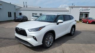 New 2021 Toyota Highlander Limited AWD PLATINUM - PREMIUM COLOUR for sale in Port Hawkesbury, NS