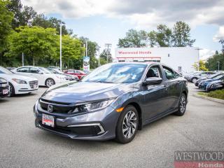 Used 2020 Honda Civic Sedan EX for sale in Port Moody, BC