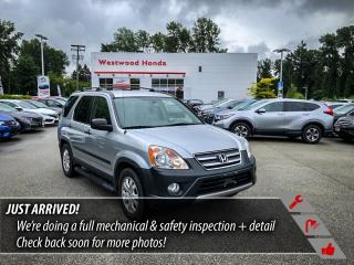 Used 2006 Honda CR-V LX 4WD AT for sale in Port Moody, BC