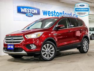 Used 2017 Ford Escape Titanium+CAMERA+MOONROOF+NAVIGATION+SONY AUDIO for sale in Toronto, ON