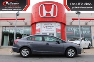 Used 2014 Honda Civic Sedan LX - NEW FRONT LINKS AND BUSHINGS - for sale in Sudbury, ON