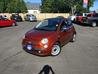 Used 2012 Fiat 500 Lounge for sale in Sarnia, ON