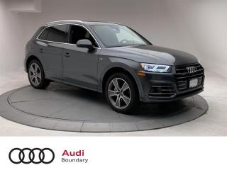 Used 2020 Audi Q5 E 55 2.0T Tech e qtro 7sp S Tronic for sale in Burnaby, BC