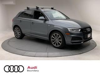 Used 2018 Audi Q3 2.0T Technik quattro 6sp Tiptronic for sale in Burnaby, BC
