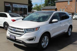 Used 2015 Ford Edge SEL Pano Roof Navi Leather for sale in Brampton, ON