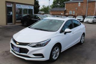 Used 2017 Chevrolet Cruze LT for sale in Brampton, ON