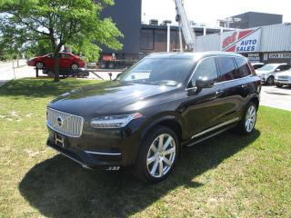 Used 2017 Volvo XC90 T6 Inscription ~ 360 CAM. ~ 7 PASS. ~ PANO ROOF for sale in Toronto, ON