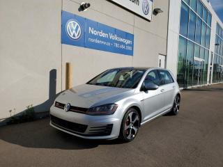 Used 2016 Volkswagen Golf GTI PERFORMANCE EDITION | 6SPD M/T | LEATHER PKG | for sale in Edmonton, AB