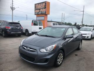 Used 2013 Hyundai Accent *AUTO*ONLY 103KMS*WARRANTY*SEDAN*CERTIFIED for sale in London, ON