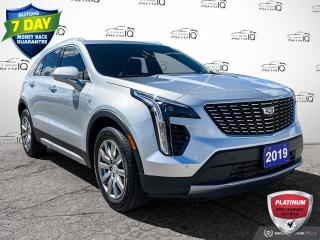 Used 2019 Cadillac XT4 Premium Luxury AWD Leather/Navi/Roof/Alloy Wheels for sale in St Thomas, ON