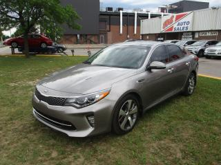Used 2018 Kia Optima SX Turbo ~ LEATHER ~ REAR CAM ~ NAV ~ PANO ROOF for sale in Toronto, ON
