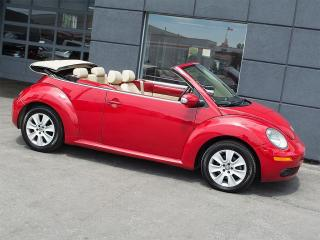 Used 2008 Volkswagen New Beetle CONVERTIBLE|LEATHER|ALLOYS|POWER TOP for sale in Toronto, ON