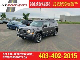 Used 2015 Jeep Patriot High Altitude 4WD   $0 DOWN - EVERYONE APPROVED!! for sale in Calgary, AB