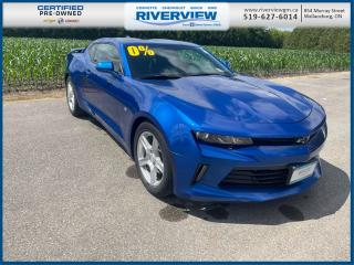 Used 2018 Chevrolet Camaro 1LS One Owner | Local Trade | Low KMS | for sale in Wallaceburg, ON