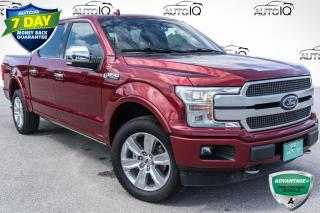 Used 2018 Ford F-150 Platinum NAVIGATION!! B&O SOUND SYSTEM!! for sale in Barrie, ON