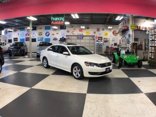 Used 2015 Volkswagen Passat 1.8L COMFORTLINE AUTO A/C H/SEATS BACKUP CAM SUNROOF for sale in North York, ON