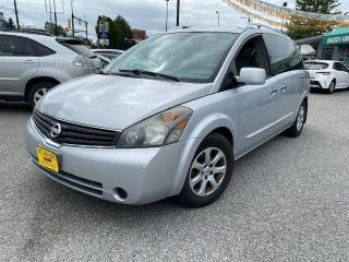 Used 2008 Nissan Quest S for sale in Vancouver, BC