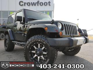 Used 2011 Jeep Wrangler SAHARA WITH LEATHER & NAV 4X4 for sale in Calgary, AB