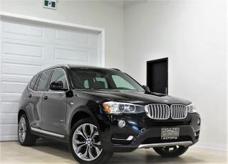 Used 2015 BMW X3 AWD xDrive35i NAVI REAR VIEW CAMERA PANORAMIC for sale in North York, ON
