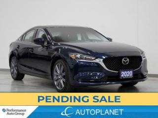 Used 2020 Mazda MAZDA6 GS-L, Back Up Cam, Sunroof, Bluetooth, Leather! for sale in Brampton, ON