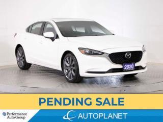 Used 2020 Mazda MAZDA6 GS-L, Back Up Cam, Apple CarPlay, Sunroof! for sale in Brampton, ON