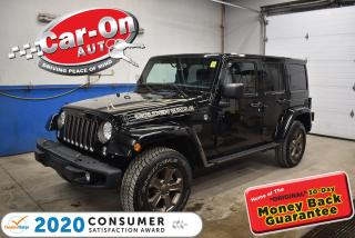 Used 2018 Jeep Wrangler Unlimited GOLDEN EAGLE  | TWO TOPS | LOADEDALLOYS for sale in Ottawa, ON