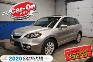 Used 2011 Acura RDX Turbo | SUNROOF | MEMEORY SYSTEM | LEATHER SEATS for sale in Ottawa, ON